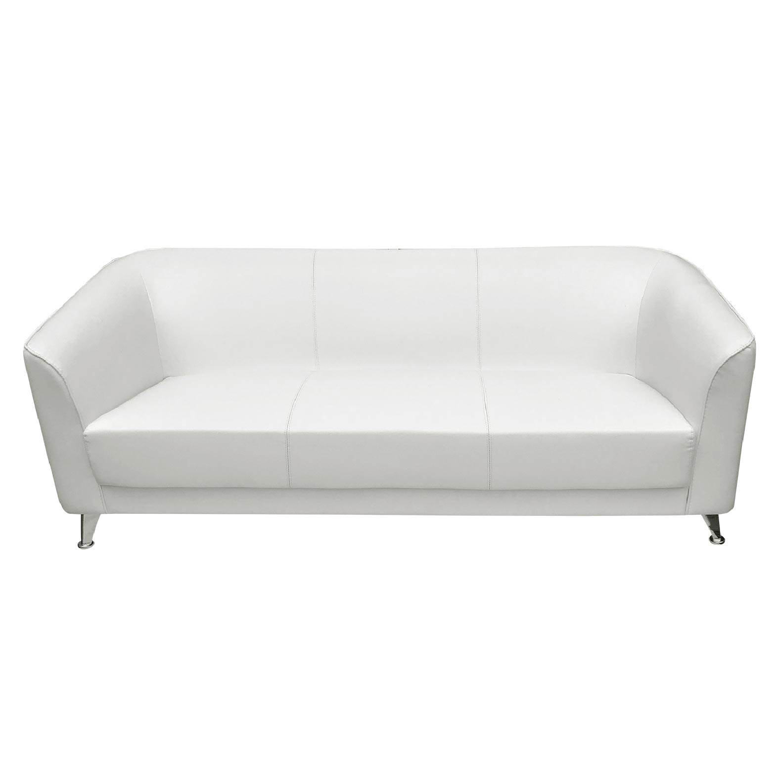 Charm sofa triple White