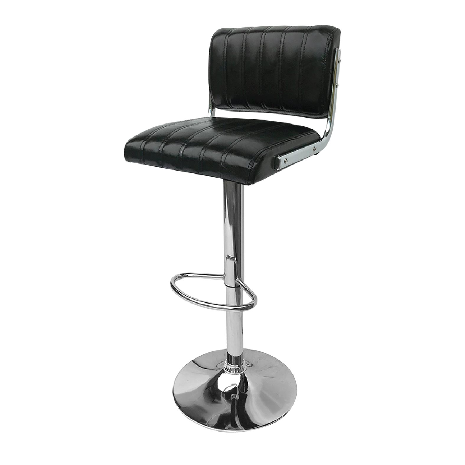 Contemporary Bar Stool Black