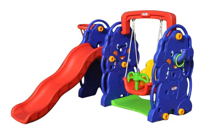 Mini Elephant Swing Slide