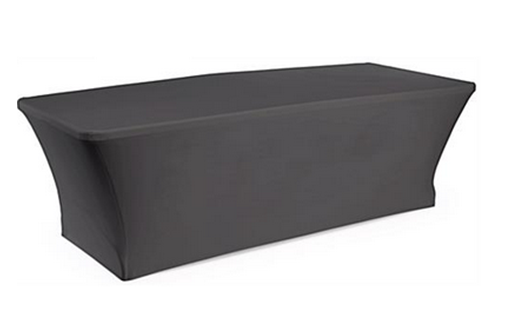 Trist Table with Black Spandex Cover